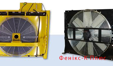 Cooling radiators for diesel generators