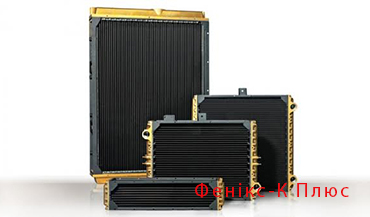 Cooling radiators for commercial vehicles